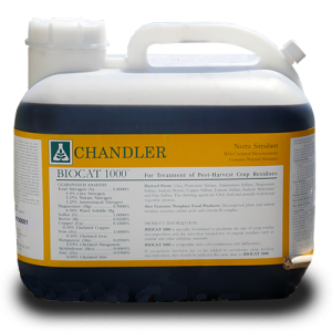 Chandler Biocat 1000 2.5 gallon jug