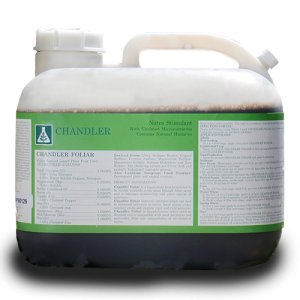 Chandler Foliar 2.5 gallon jug