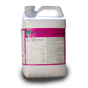 Chandler Liquid Seed Treat gallon jug