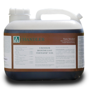 Chandler Soil 2.5 gallon jug